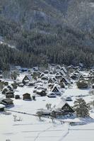 岐阜県 天守閣展望台から見る白川郷