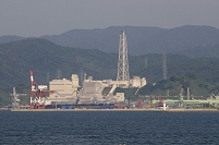福井県 敦賀市 敦賀火力発電所の風景