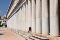 ギリシア アテネ アッタロスの柱廊