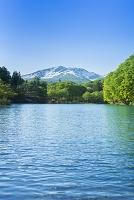 山形県 西川町 五色沼