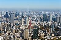 東京都 東京スカイツリーと東京タワー