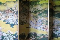 大阪府 豊臣秀吉花見の屏風絵