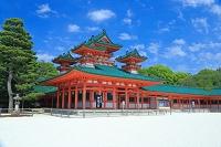 京都府 新緑の平安神宮