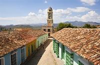 キューバ トリニダ 町並み