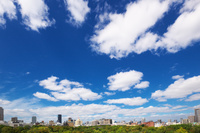 大阪府 大阪城址公園からの眺望 大阪城周辺