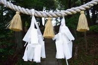 岐阜県 しめ縄と紙垂