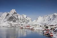 ノルウェー モスケネス島 漁村