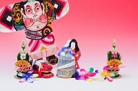 滋賀県 小幡土人形巳と天女と鐘