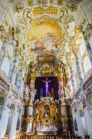 ドイツ ヴィース教会の内部