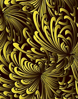 菊柄のパターン