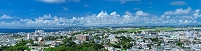沖縄県 宜野湾市街と普天間基地