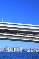 東京都 お台場より レインボーブリッジ