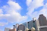 大阪府 西梅田の高層ビル群