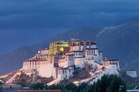 中国 チベット ラサ ポタラ宮