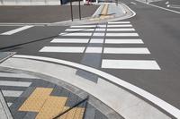 点字ブロック 道路横断帯