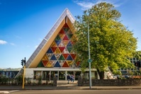 ニュージーランド クライストチャーチ・トランジショナル大聖堂