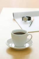 コーヒーと万年筆