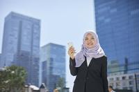 ムスリムのビジネスウーマン