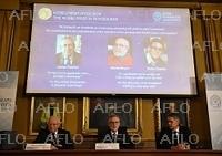 ノーベル物理学賞を発表