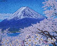 山梨県 桜花富士