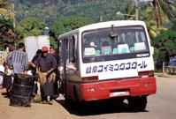 トンガ ネイアフ 日本の中古車バス