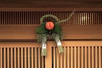 京都府 注連縄飾り