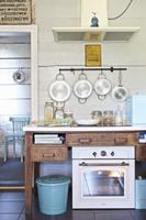 インテリア ヨーロピアンカントリー風のキッチン