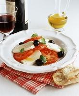 トマトとモッツァレラの前菜