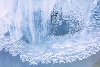 長野県 横谷渓谷 氷模様