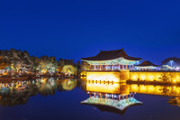 韓国 慶州 東宮と月池