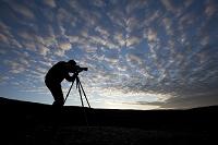 アラスカ デナリ国立公園 カメラマン