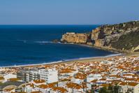 ポルトガル ナザレの街並み ブライア地区とサン・ミゲル砦