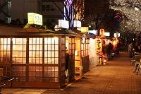 福岡県 中洲屋台 夜景