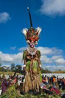 パプアニューギニア マウントハーゲンの祭り