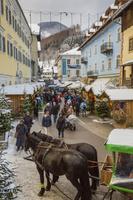 ザンクト・ヴォルフガングのクリスマスマーケット