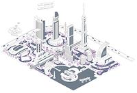 ブロックタウン未来都市 B-4-5-6-7-8-9