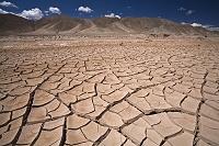 アルゼンチン ひび割れた地面