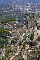 ポルトガル シントラ ムーアの城跡