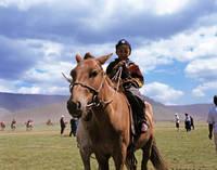 モンゴル ナーダム祭り