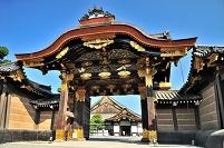 京都府 二条城 二の丸御殿唐門
