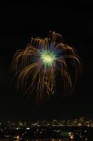 新潟県 夜景と長岡まつり大花火大会 匠の花火で大流星花