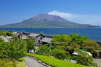 鹿児島県 仙巌園と桜島