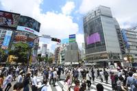渋谷駅前・スクランブル交差点