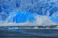 チリ サンラファエル氷河