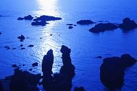 山口県 変装行列(奇岩) 青海島 夕景