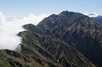 長野県 唐松岳から五竜岳