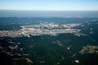 菊水山(石井ダム)周辺より神戸新興住宅地 鈴蘭台周辺