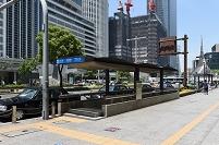 愛知県 名古屋駅周辺 地下道の出入口