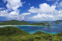 沖縄県 安護の浦と慶良間諸島 座間味島