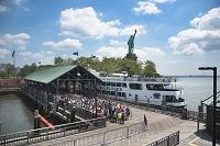アメリカ合衆国 ニューヨーク 自由の女神島船着き場